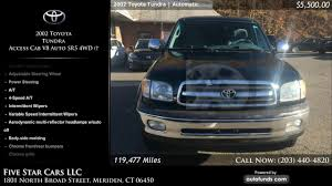 Used 2002 Toyota Tundra | Five Star Cars LLC, Meriden, CT - SOLD ... 2x Auto Truck Us Army Five Star Car Sticker Suv Hood Decal File1951 Ford F1 Cab Pickup 12763891075jpg Chuck Fairbanks Chevrolet In Desoto Midlothian And Lancaster Area Used 2008 Gmc Sierra 2500hd Cars Llc Meriden Ct Sold Traportations Skin For Kenworth W900 American Anthony Tristani Trash Kgpins Of New York City 16 X 16cm White Jeep Nissan Hyundai Preowned Center Home Facebook Blog Post List Sam Packs Lewisville F150 Earns Nhtsa Fivestar Crashtest Rating News Carscom 2pcs