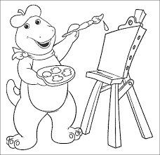 Black And White Pictures To Color With Cartoon Animal Coloring Pages