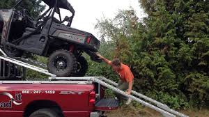 100 Utv Truck Rack LoadIt Over Cab UTV Loader YouTube