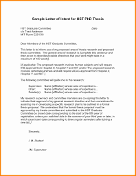 The Letter Of Intent Template Best Letter Intent Template Graduate