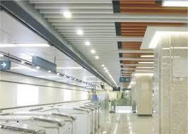 plafond métallique d écran de profil d u aluminium faux pour
