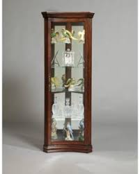 sale darby home co nannie lighted corner curio cabinet