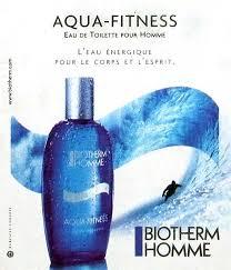 publicité du parfum aqua fitness de biotherm