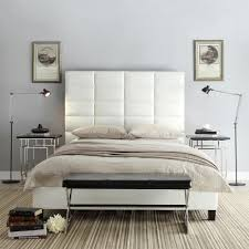 White King Headboard And Footboard by Homesullivan Upland White King Upholstered Bed 40e990b732w 3a Bed