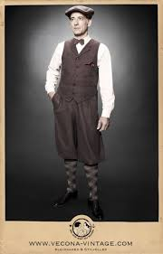 1930s Style Mens Suits Knickerbocker Pants CASABLANCA GBP13900 AT Vintagedancer