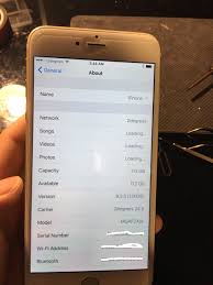 Repaired iPhone 6 plus touch not working design flaw & grey bar