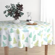 Shop Christmas Trees Round Tablecloths