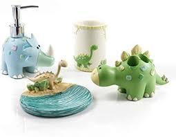 rokko dinosaurier kinder badezimmer accessoire stil