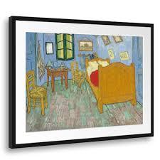 kunstdruck vincent gogh das schlafzimmer zweite version 1889