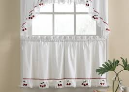 Walmart Kitchen Cafe Curtains by Curtains Cafe Curtains For Kitchen And Beautiful Cafe Curtains