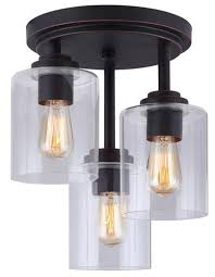 spelndid flush mount kitchen lights vintage homey attractive