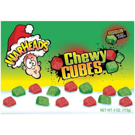 Warheads Chewy Cubes Candy - 4oz