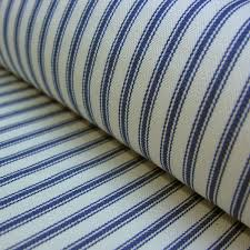 Material For Curtains Uk by Striped Fabric Natural Fabric From Tinsmiths