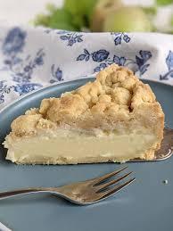 rezept apfel pudding kuchen mit streuseln lavendelblog