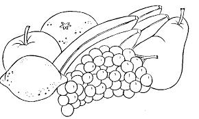 Fruits & Ve ables clipart outline 2