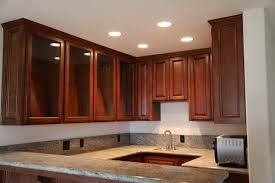 miscellaneous recessed lights in kitchen interior decoration