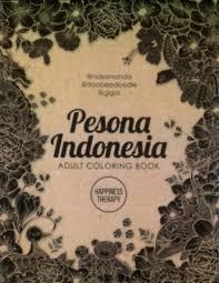 Pesona Indonesia Adult Coloring Book