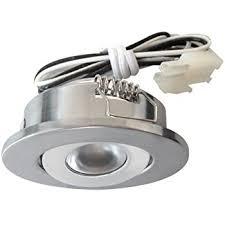 elco lighting e341n mini led recessed cabinet light kit 1w