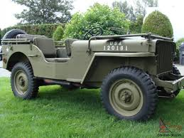 100 Willys Jeep Truck For Sale 1942 Slat Grill MB