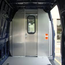 Ranger Design Sliding Door Partition For Sprinter High Roof   U.S. ...