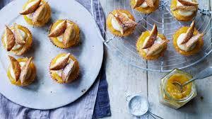 Orange Butterfly Cakes Recipe