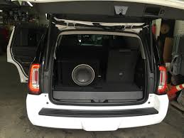 2015 Yukon Denali Full Custom System Install – High End Car Stereos ... West Seattle Blog West Seattle Crime Watch Car Broken Into Sema 2013 Kickers Innovative Wireless Bluetooth Audio System For Visual Services In Hampton Roads One Cheapneasy Stereo Project 2 Wds Tech Hyundai I20 Basics Head Units Amplifiers And Speakers How To Upgrade Your World Wide 2017 Toyota Tundra Trd Pro Speaker Complete San 2006 Hummer H1 Alpha Custom Sema Show Trucksold Amazoncom Pyramid Pp12 Dual 12inch 300 Watt 4way Hatchback Homebrew Hightech Handbuilt Photo Image Gallery