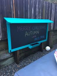 Outdoor Chalk Board | Home Made | Pinterest