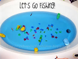 Inflatable Bath For Toddlers by Bathtub Fishing Make Your Own Fishing Game Artsy Momma