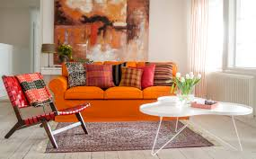 Ektorp Sofa Bed Cover Red by Ready For Autumn Ektorp 3 Seater Sofa Cover In Mandarin Orange