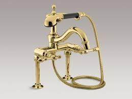 Polished Brass Bathtub Faucets by Standard Plumbing Supply Product Kohler K 6905 4 Bn Iv Georges