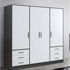 drehtürenschrank shoaf modernmoments farbe schwarz matt weiß matt