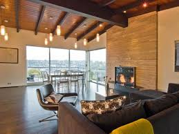 Image Of Rustic Track Lighting For Living Room