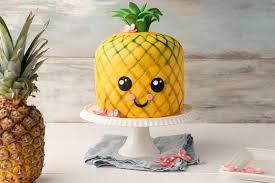 ananas 3d motivtorte pineapple kawaii cake sallys
