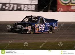 100 Nascar Truck Race Results Nick Hoffman NASCAR Series ORP Night 63 Editorial Stock Photo