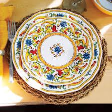 Floreale 12 Piece Melamine Dinnerware Set