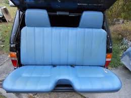 7387 GM Pickup Truck Factory Bucket Seat Information