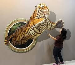 Stunning 3d Wall Art Illusion 76 For With