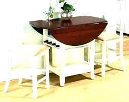 Dining Table With Leaf Hidden Chairs Creative