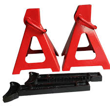 100 Truck Jack Stands 1 Pair Of 6 Ton Car Heavy Duty Steel Emergency