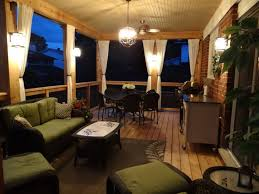 Diy Under Deck Ceiling Kits Nationwide by Complete Outdoor Living Deck With Finished Roof And Lighting