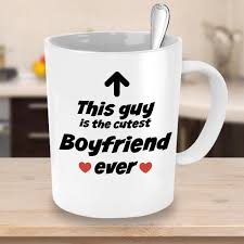 Buy Boyfriend Mug Cutest Boyfriend Ever Funny Coffee Mug