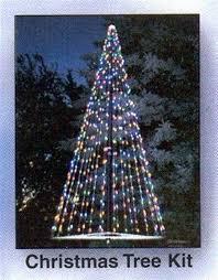 Flagpole Christmas Tree Ahmadbamieh
