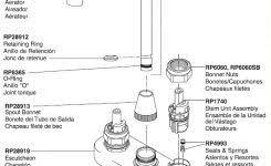 Peerless Kitchen Faucet Manual by Peerless Kitchen Faucet Parts Diagram Kitchen Faucet Components
