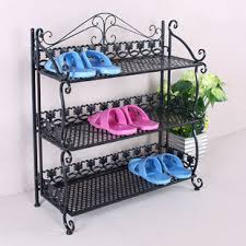 Continental Iron dust simple shoe shoe outdoor shoe rack tee or