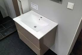 badmöbel set badezimmermöbel waschtisch taupe gäste wc 1 169