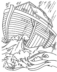 Bible Story Coloring Pages Noahs Ark