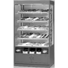 Federal WDC4276SS 42 Non Refrigerated Full Pan Bakery Display Self Serve