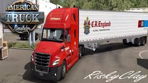 100 Cr England Truck Freightliner CascadiaCR American Simulator Ep154 Appliances To Olympia WA