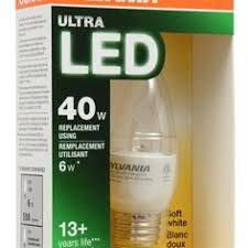 sylvania ultra 60 w equivalent dimmable soft white a19 led