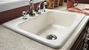 Install Kohler Sink Strainer by Install A Cast Iron Sink